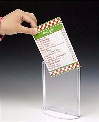 200-pcs-of-4x6-Sign-Holder-for-Tabletop-T-style-Table-Tent-with-Oval-Base-Clear