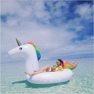 Top Offer SUPER GIANT Swimming Float Top Summer2017 Hot Ride ON Inflatable