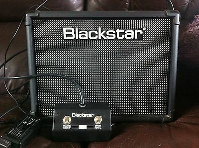 Blackstar ID:Core 20 Stereo Guitar Amplifier amp + Foot switch