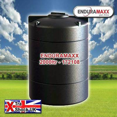 EnduraMaxx Water Tank - Rainwater harvesting - Water storage 2000 Ltr
