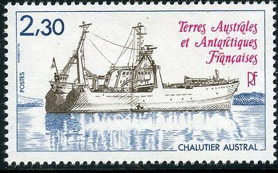 Timbre T.a.a.f. / Terres Australes Neuf  N° 100 ** Chalutier