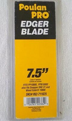 """Poulan Pro 7.5 """" Edger Blade Replacement 952-711625 - New!"""