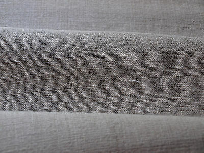 Yardage Vintage Homespun Antique HandWoven Linen Flax  Fabric Natural Material