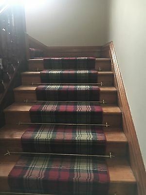 Solid Brass stair rods 22 in total