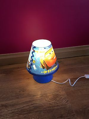 Disney Cars Lightening McQueen Table Or Bedside Table Lamp