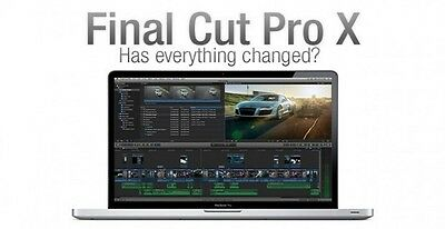 Final Cut Pro X 10.3.4 - Motion & Compressor - ONLY 100% GENUINE LISTING HERE!