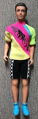 Paul in Cycling Outfit - Sindy's Boyfriend. 1994 - PERFECT CONDITION