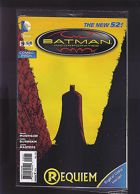 Dc Comics The New 52! Batman Incorporated Combo Pack #9 1St Print Direct Edition