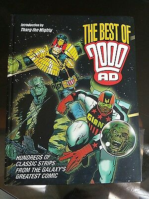 The Best of 2000AD Judge Dredd Tharg Wagner Comic Collection abc death flesh