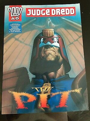 Judge Dredd The Pit AD 2000ad John Wagner comic graphic novel rare ad