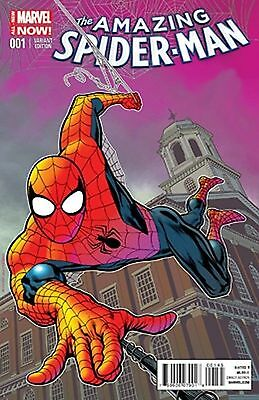 Marvel Comics Amazing Spider Man #1 Vol 3 Kevin Nowlan Exclusive Color Variant