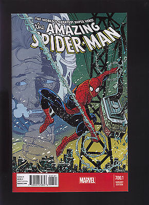 Marvel Comics The Amazing Spider Man #700.1 Vol3 Alternate Cover Variant Edition