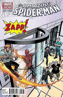 Marvel Comics Amazing Spider Man #1 Vol 3 Zapp Comics Exclusive Color Variant