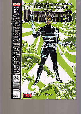 Marvel Comics Ultimate Comics The Ultimates #21 Newsstand Variant Reconstructio