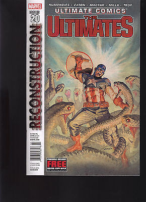 Marvel Comics Ultimate Comics The Ultimates #20 Newsstand Variant Edition