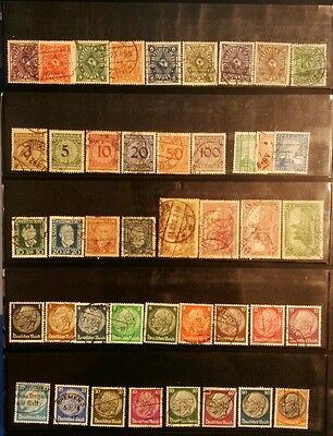Germania Terzo Reich 6 serie complete usate