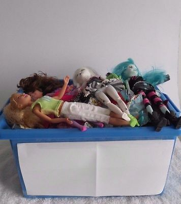 HUGE Lot Of Fashion Doll Clothing Plus Dolls & Accessories Barbie Etc x312 Item