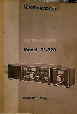 Kenwood Ts-520 Original Service Manual!!! **free Shipping**