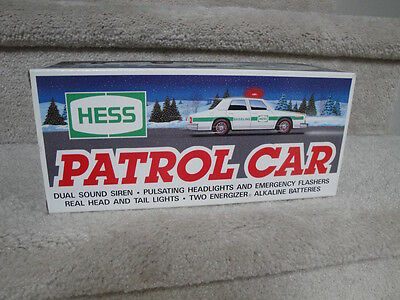 "MIB 1993 Hess Patrol Car Battery Operated ""WOW"""