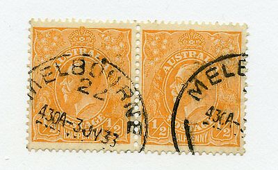 AUSTRALIA--Horizontal Pair Scott #65a