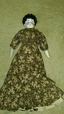 Antique China Head Doll - all original  - 12 inches