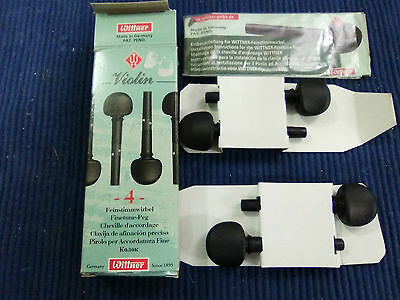 Wittner Finetune Violin Tuning Pegs 4/4 Sz Set Of Four  7,8Mm