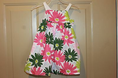 New Gymboree infant multi color flower dress size 6-12months/bloomers