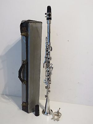 Vintage American Perfection One Piece Metal body Bb Clarinet