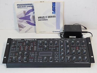 Access Virus C Desktop Module Analogue Modelling Synthesizer