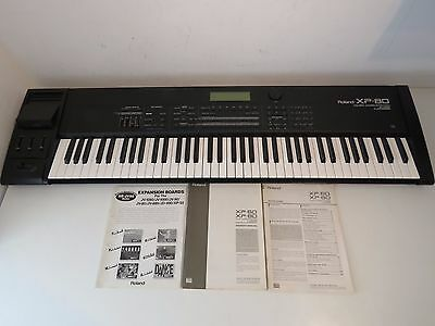 Roland XP-80 Digital Music Workstation Synthesizer – Fully Expanded