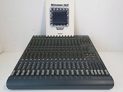 Alesis Studio 32 Mixer Recording Console with Inline Monitor