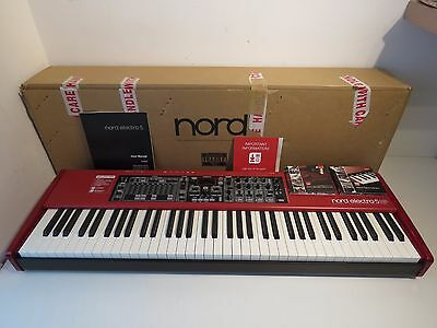 Nord Electro 5 HP Hammer Action 73 Key Stage Piano Performance Synthesizer