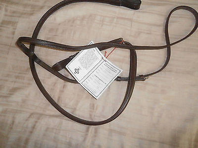 Standing Martingale - Courbette brown square raised horse size