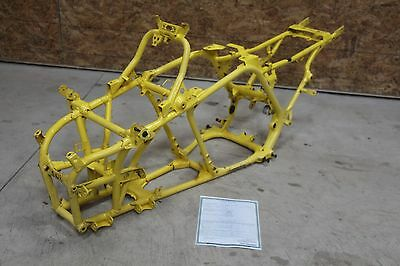 Frame YAMAHA Banshee A-ARM 1991-2006 FREE HOME DELIVERY paperwork YELLOW #0749