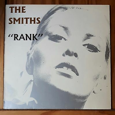 The Smiths - Rank Lp - Original Greek Release 1988 - Virgin Records Vg 50380