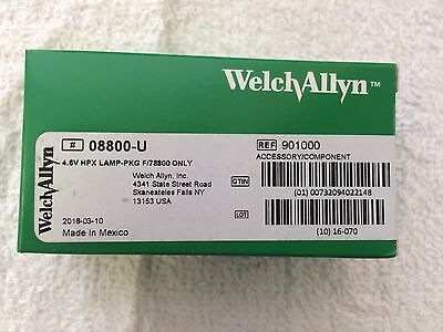 Welch Allyn 4.6v Halogen Lamp # 08800-U