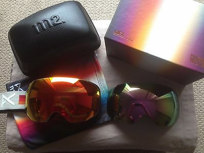 NIB 2017 Anon m2 VHS with Spare Lens Ski/Snowboard Goggles