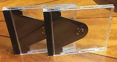 2 Mobile Fidelity DCC MFSL Premium Audiophile REPLACEMENT Lift Lock CD JewelCase