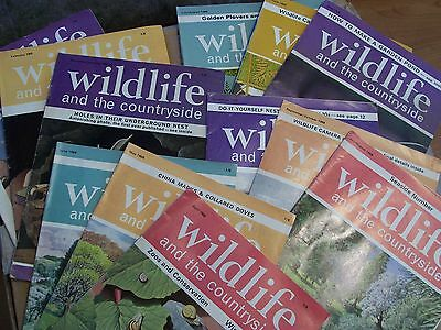 Vintage wildflife and the countryside magazines