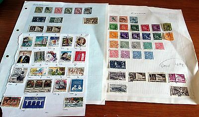 60+ Finland Stamps, Older Seen, Mainly Fine Used, Good Selection