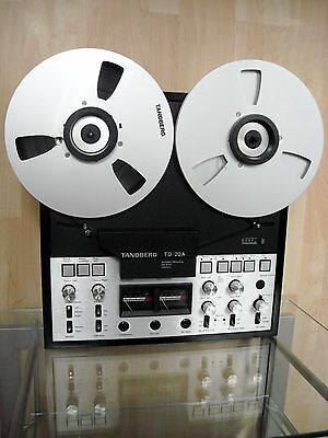 Tandberg TD-20A Reel To Reel Tape Recorder 4-Track * With Alu Reels & Manual