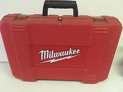 "Milwaukee 1/2"" Hammer Drill Carrying Case Only 0724-24"