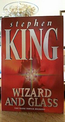 WIZARD AND GLASS first edition in pb by Stephen King