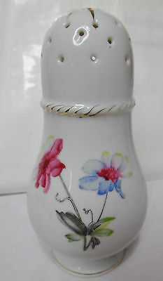 "Vintage Porcelain Floral Decorated HAT PIN HOLDER 5.5"" marked JAPAN good used"