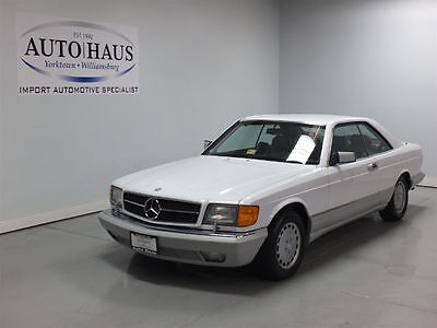 1991 Mercedes-Benz Other Base Coupe 2-Door 1991 MERCEDES 560SEC - LOOKS/RUNS/DRIVES BEAUTIFULLY! VERY LOW ORIGINAL MILES!