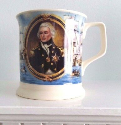 Lord Horatio Nelson Fine Bone China Mug By Past Times
