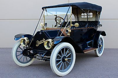 1912 Buick 35 Convertible Touring Brass Antique Era Bigger than Ford full of Brass goodies like Cadillac Mercedes B Simplex Oldtimer