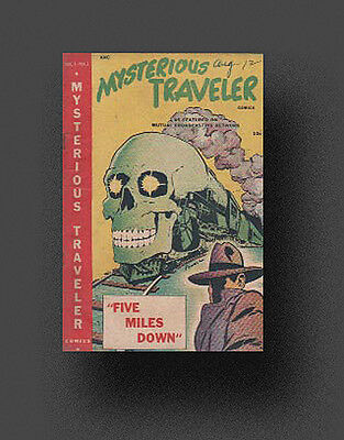 *MYSTERIOUS TRAVELER* Old Time Radio Shows - 64 MP3s on CD +FREE OFFER OTR