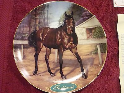 Seabiscuit Collectors Plate