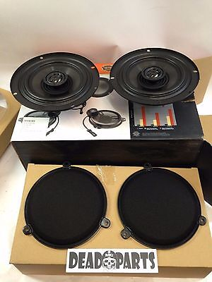 Harley nice stock touring Bagger speakers screens grills 6.5""